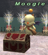Mini-game Moogle with his Giftbox