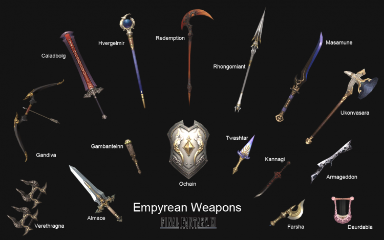 Empyrean Weapons (Acquisition TBD!)
