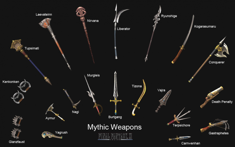 Mythic Weapons